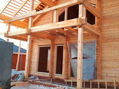 фото Строительство дома из профилированного бруса 324 м2 — проект Богородское, Куюки