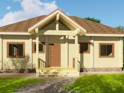 фото Деревянные и кирпичные дома
