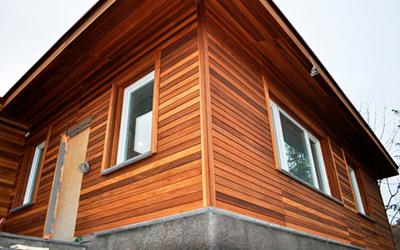 варианты отделки деревянного дома фото