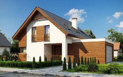 какой дом двухэтажный или одноэтажный